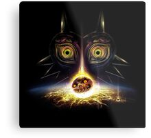 Legend of Zelda Majora's Mask Operation Moon Fall Metal Print