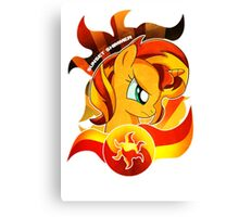 Sunset Shimmer Canvas Print