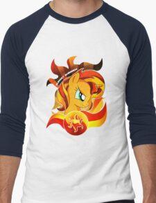 Sunset Shimmer Men's Baseball ¾ T-Shirt