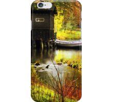 autumn landscape iPhone Case/Skin