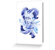 Crystal Rarity Greeting Card
