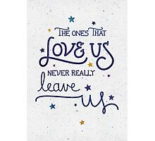 "Harry Potter ""Never leave us"" Photographic Print"