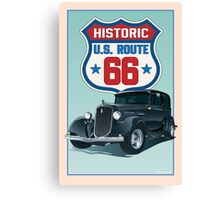 Historic Route 66 Canvas Print