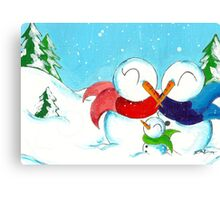 Snowkin Canvas Print