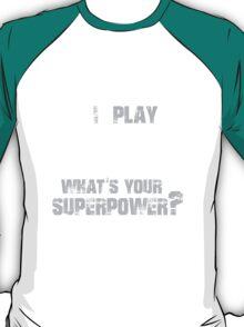 Guitar Superpower T-shirt T-Shirt