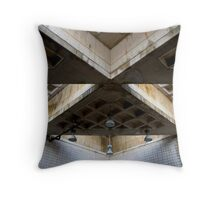 pool ceiling Throw Pillow