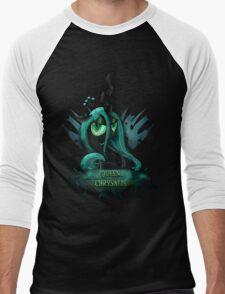 MLP: Queen Chrysalis Men's Baseball ¾ T-Shirt