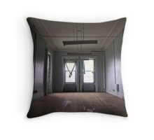 administration room Throw Pillow