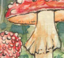 Mushrooms - Fly agaric Sticker