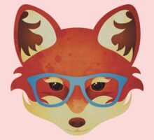 Hipster Fox Kids Clothes