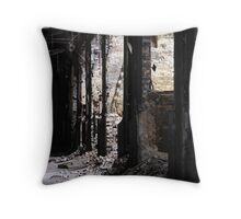 glenwood power station Throw Pillow