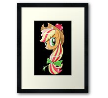 Rainbowfied Applejack Framed Print