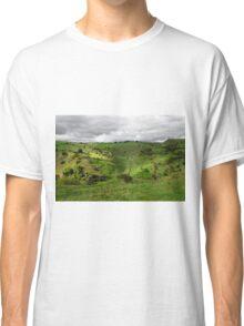 North West, Along Cressbrook Dale Classic T-Shirt