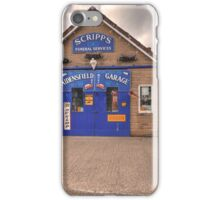Aidensfield Garage  iPhone Case/Skin