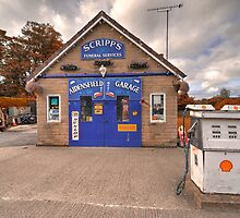 Aidensfield Garage  by Rob Hawkins