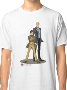Stephen and Crane by Mila May Classic T-Shirt