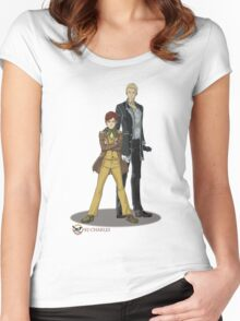 Stephen and Crane by Mila May Women's Fitted Scoop T-Shirt