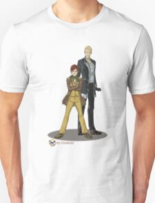 Stephen and Crane by Mila May Unisex T-Shirt