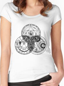 Superwholock Venn Diagram Women's Fitted Scoop T-Shirt