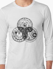 Superwholock Venn Diagram Long Sleeve T-Shirt