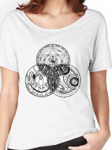 Superwholock Venn Diagram Women's Relaxed Fit T-Shirt