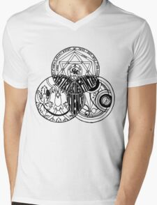 Superwholock Venn Diagram Mens V-Neck T-Shirt