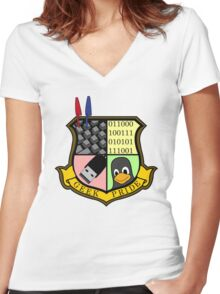 Geek Pride Women's Fitted V-Neck T-Shirt