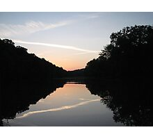Caney Fork Sunset Photographic Print
