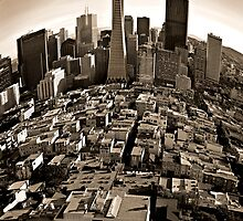 SanFrancisco-Cityscape by Ron Trinca