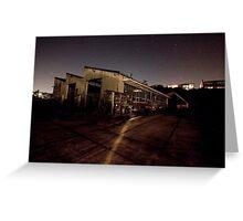Port Authority Destruction (A) Greeting Card