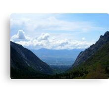 salt lake Canvas Print