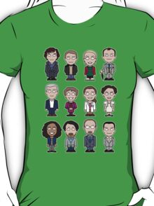 Sherlock and Friends mini people (shirt) T-Shirt