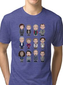 Sherlock and Friends mini people (shirt) Tri-blend T-Shirt