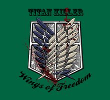 Titan Killer Wings of Freedom Unisex T-Shirt