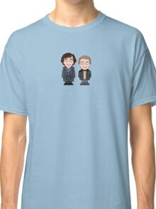 Sherlock and John mini people (shirt) Classic T-Shirt