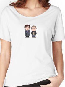 Sherlock and John mini people (shirt) Women's Relaxed Fit T-Shirt