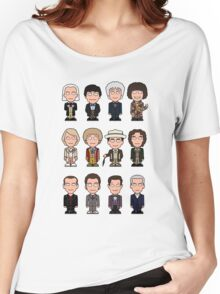 The Twelve Doctors (shirt) Women's Relaxed Fit T-Shirt