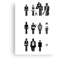 Doctor Who - companions recognition guide Metal Print