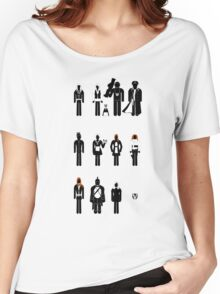 Doctor Who - companions recognition guide Women's Relaxed Fit T-Shirt