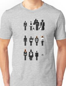 Doctor Who - companions recognition guide Unisex T-Shirt
