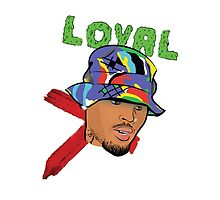 Chris Brown Loyal  by Deannatheartist