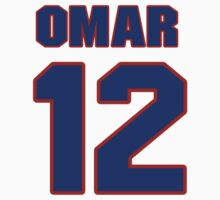National baseball player Omar Quintanilla jersey 12 by imsport