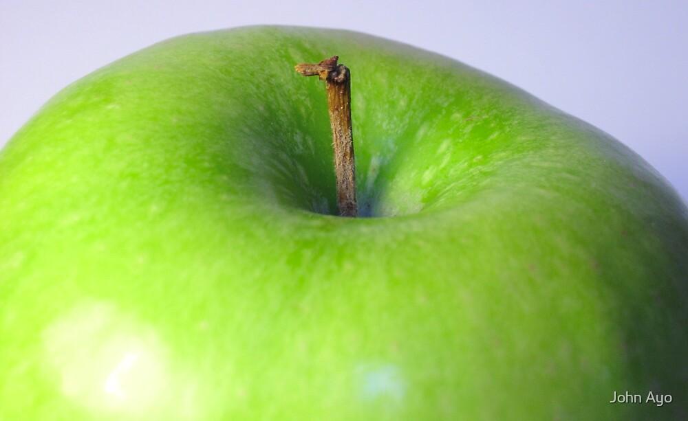 Green Apple by John Ayo