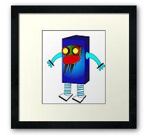 Robot beast Framed Print