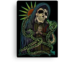 Madonna with snake Canvas Print