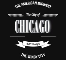 Chicago - The Vintage Windy City Typography  by Givens87