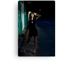Fashion Shot Chloe Jane Street Location Canvas Print