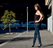 Fashion shot Chloe Jane Street Location Aspect 2 by Tony Lin