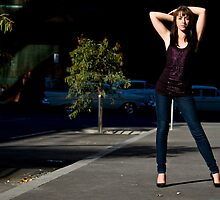 Fashion shot Chloe Jane Street Location Aspect 3 by Tony Lin