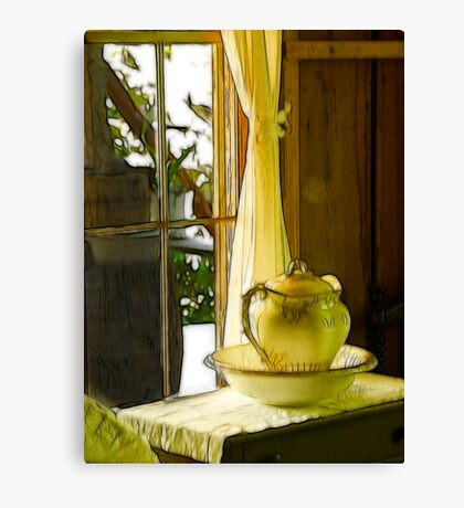 Pitcher Window Canvas Print
